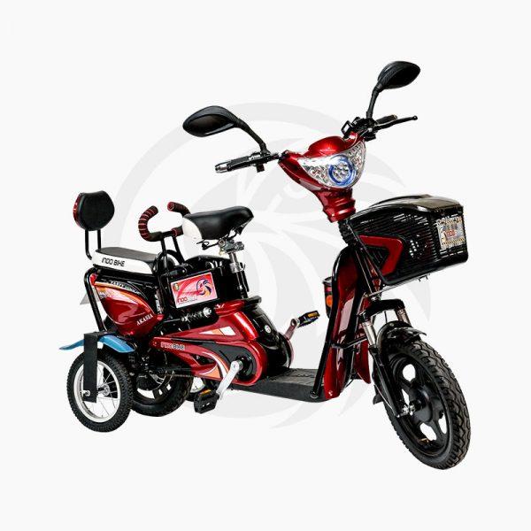 Sepeda Listrik Akasia Merah Roda 4